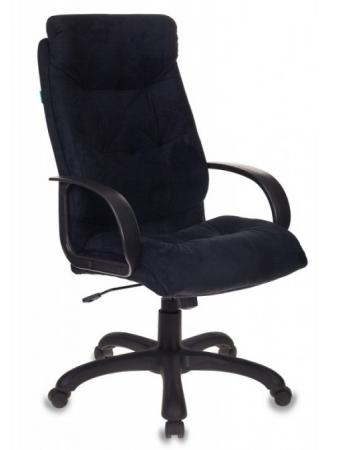 Кресло руководителя Бюрократ CH-824B/MF111-2 черный микрофибра кресло руководителя бюрократ ch 824b lgrey серый