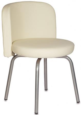 Стул Бюрократ KF-2/OR-12 вращающийся светло-бежевый Or-12 искусственная кожа кресло стул бюрократ kf 2 or 16 вращающийся черный or 16 искусственная кожа