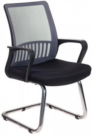 Кресло Бюрократ MC-209/DG/TW-11 спинка сетка серый TW-04 сиденье черный TW-11 стул бюрократ вики dg 15 13 спинка сетка темно серый сиденье темно серый 15 13