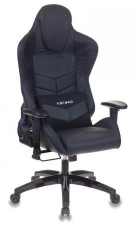 Кресло игровое Бюрократ CH-773N/BLACK две подушки черный искусственная кожа (пластик черный) кресло руководителя бюрократ ch 868axsn black черный искусственная кожа пластик темно серый