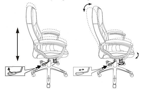 Кресло руководителя Бюрократ T-9910N/BLACK черный искусственная кожа (пластик серебро) кресло руководителя бюрократ t 9910n black черный искусственная кожа пластик серебро