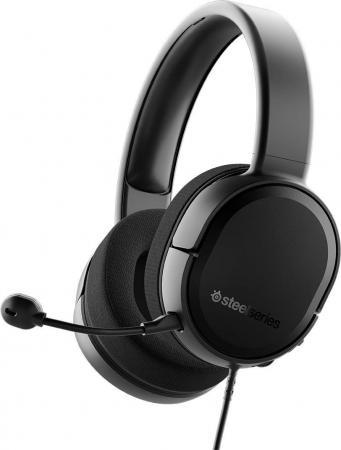 Игровая гарнитура проводная Steelseries Arctis Raw черный 61496 гарнитура steelseries siberia 800 черный 61302