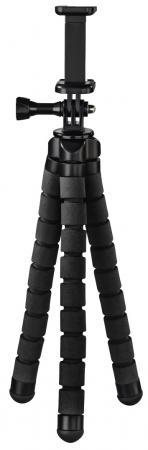 Штатив Hama Flex настольный черный алюминий (145гр.)