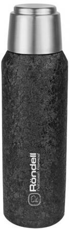 1067-RDS Термос 0,6 л с магнитной крышкой Black Jacquard