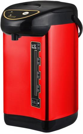 Термопот Irit IR-1420 750 Вт красный 3.8 л металл/пластик цена и фото