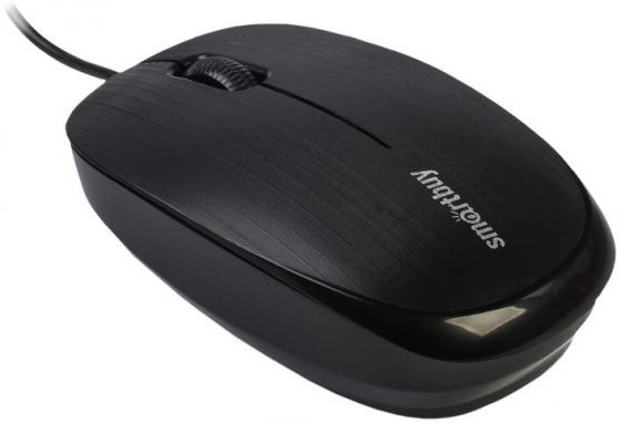 Мышь проводная Smartbuy ONE 214-K черная [SBM-214-K] мышь беспроводная smartbuy one 333ag k черная [sbm 333ag k]