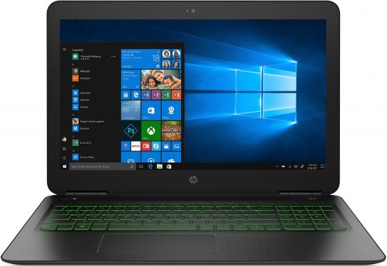 Ноутбук HP Pavilion Gaming 15-dp0092ur 15.6 1920x1080 Intel Core i7-8750H 1 Tb 128 Gb 16Gb nVidia GeForce GTX 1060 3072 Мб черный DOS 5AS61EA