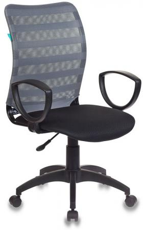 Кресло Бюрократ CH-599AXSN/32G/TW-11 спинка сетка серый TW-32K03 сиденье черный TW-11 кресло для офиса бюрократ ch 599axsn tw 11 black