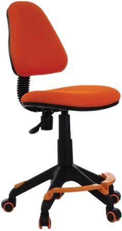 Кресло детское Бюрократ KD-4-F/TW-96-1 оранжевый TW-96-1 кресло детское бюрократ kd 8 на колесиках оранжевый [kd 8 tw 96 1]