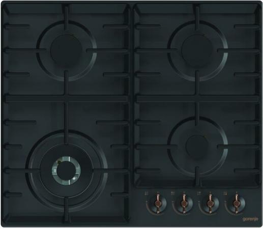 Газовая варочная поверхность Gorenje Infinity GW641INB черный цена и фото