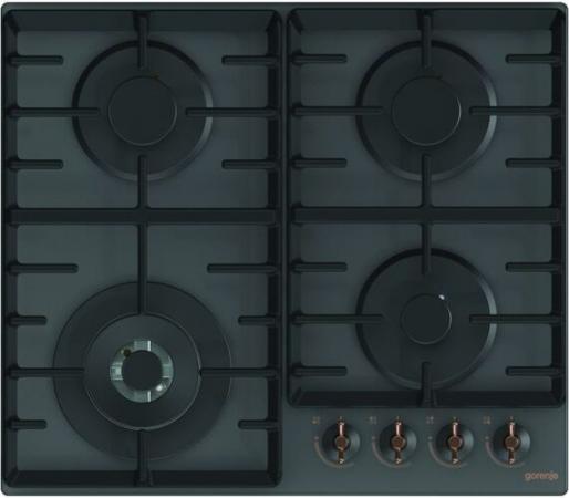 Газовая варочная поверхность Gorenje Infinity GTW641INB черный цена и фото