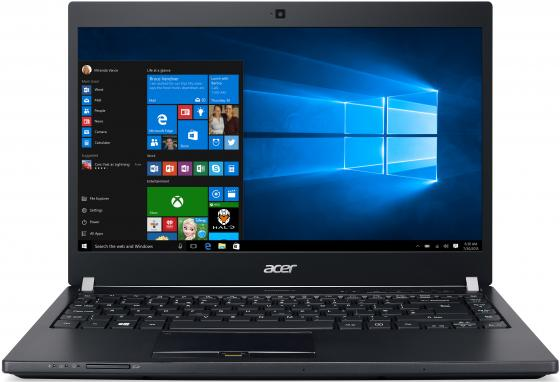 Ноутбук Acer TravelMate TMP648-G3-M-53C7 Core i5 7200U/8Gb/1Tb/SSD128Gb/UMA/14/IPS/FHD (1920x1080)/Windows 10 Professional/black/WiFi/BT/Cam ноутбук