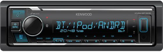 Автомагнитола Kenwood KMM-BT305 1DIN 4x50Вт автомагнитола kenwood kdc 130ur