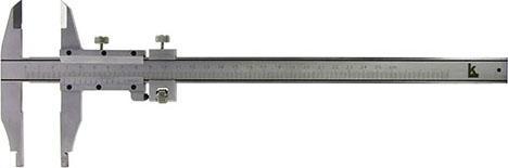 Штангенциркуль нониусный Калиброн 71872 линейка калиброн 1000х35х0 8mm 73857
