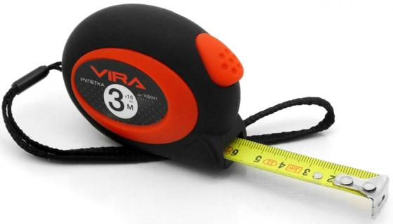 Рулетка VIRA 100041 3мх16мм с автоматическим стопором
