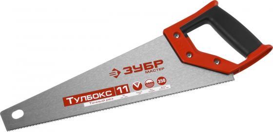 Ножовка ЗУБР 15156-35 МОЛНИЯ-Тулбокс 350 мм, 11 TPI, прямой зуб, импульсная закалка каждого зуба цена