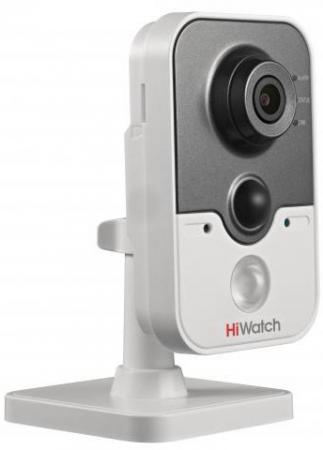 Купить Камера IP Hikvision HiWatch DS-I214 (4 мм) CMOS 1/2.8 4 мм 1920 x 1080 H.264 MJPEG RJ45 10M/100M Ethernet PoE белый