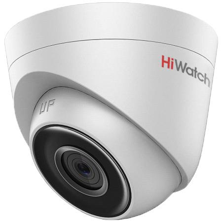 "Камера IP Hikvision HiWatch DS-I203 (6 мм) CMOS 1/2.8"" 6 мм 1920 x 1080 H.264 MJPEG RJ45 10M/100M Ethernet PoE белый"