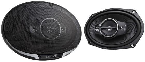 Колонки автомобильные Kenwood KFC-PS6986 600Вт 88дБ 4Ом 15x23см (6x9дюйм) (ком.:2кол.) коаксиальные четырехполосные
