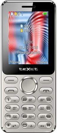 TEXET TM-212 мобильный телефон цвет серый цена и фото