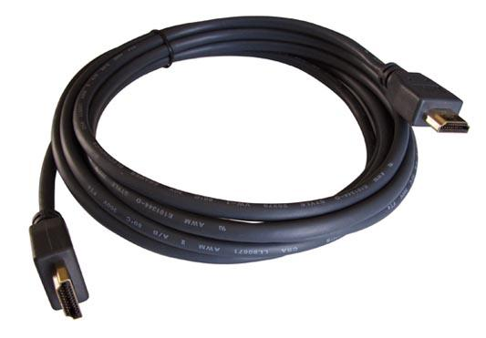 цена на Кабель HDMI 0.9м Kramer C-HM/HM/ETH-3 круглый черный 97-01213003