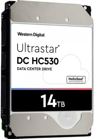 """Western Digital Ultrastar DC HA530 HDD 3.5"""" SATA 14Тb, 7200rpm, 512MB buffer, 512e (WUH721414ALE6L4) western digital wd30ezrz 3000гб 600 3 5 hdd"""