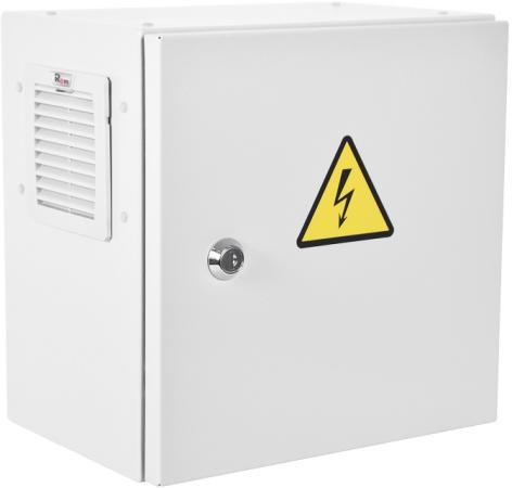 Шкаф ЭКОНОМ уличный всепогодный настенный укомплектованный (В400 Ш400 Г250), комплектация T1-IP54