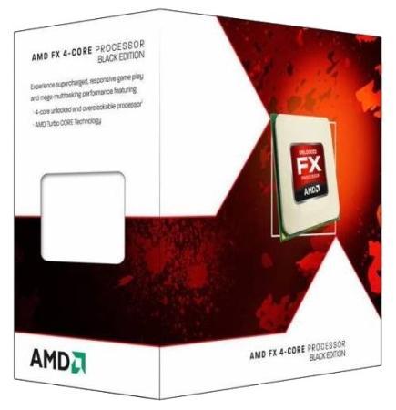 Процессор AMD Процессор AMD FX-4300 AM3+ FD4300WMHKSBX BOX процессор amd fx 4300