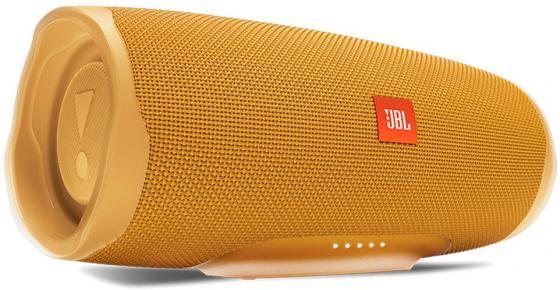 Динамик JBL Портативная акустическая система JBL Charge 4 желтый цена и фото