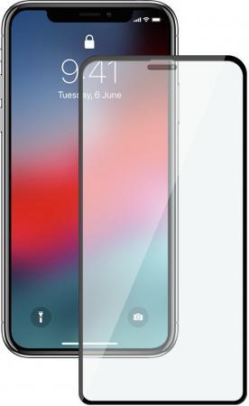 Защитное стекло 3D Deppa 62444 для iPhone XS Max 0.3 мм черная рамка 62444 стоимость
