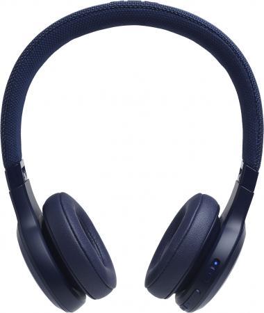 лучшая цена Гарнитура JBL Live 400BT синий