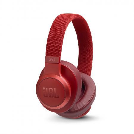 Наушники JBL Наушники беспроводные JBL Live 500 BT, красные
