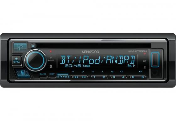Автомагнитола CD Kenwood KDC-BT530U 1DIN 4x50Вт автомагнитола kenwood dmx110bt