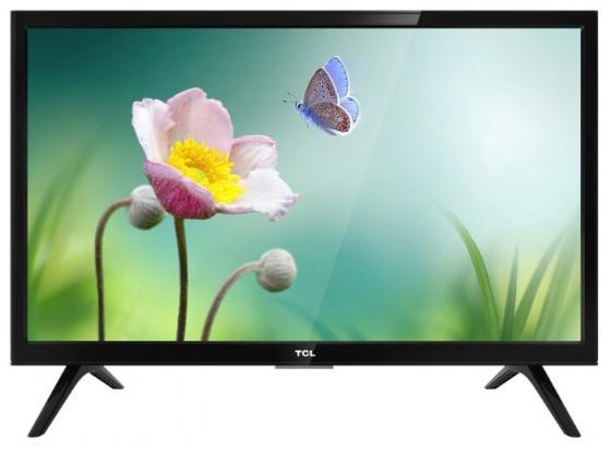 Телевизор LED TCL 24 LED24D3000 черный/HD READY/60Hz/DVB-T/DVB-T2/DVB-C/DVB-S/DVB-S2/USB (RUS)