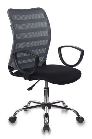 цена Кресло для геймеров Бюрократ TW-32K03 TW-11 чёрный серый CH-599AXSL/32G/TW-11 онлайн в 2017 году