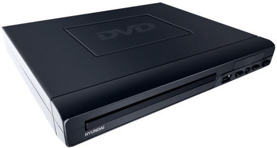 лучшая цена Плеер DVD Hyundai H-DVD220 черный ПДУ