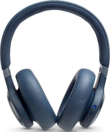 купить Гарнитура JBL Live 650BTNC синий JBLLIVE650BTNCBLU дешево