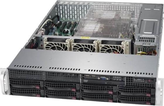 лучшая цена Корпус SuperMicro CSE-825TQC-R1K03LPB 2x1000W черный