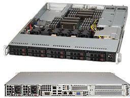 "лучшая цена Корпус SuperMicro CSE-116TQ-R706WB 10 x 2.5"" hot-swap SAS/SATA 1U Redundant 700/750W Single Output Power Supply"