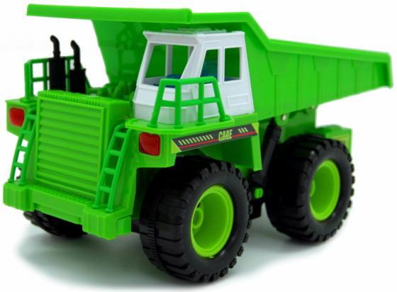 Машина на РУ BALBI RCM-8304-G Самосвал зеленый машина на ру balbi внедерожник 1 14 графит rco 1401 bl