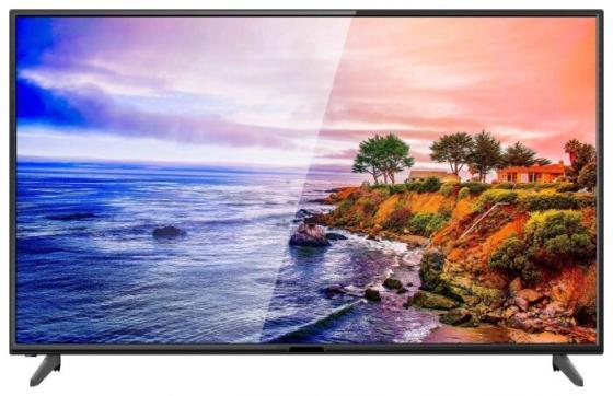 """Телевизор 43"""" Hartens HTV-43F02-T2C/B/M черный 1920x1080 60 Гц VGA телевизор led hartens 43"""