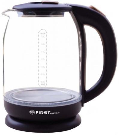 Чайник First FA-5405 1500 Вт фиолетовый 1.8 л стекло