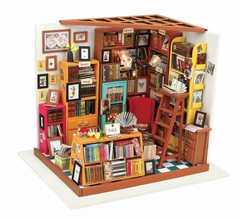 Конструктор DIY HOUSE Библиотека