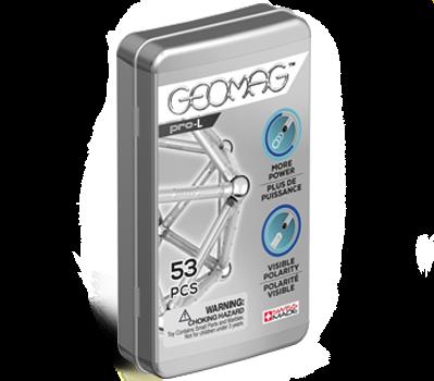 Магнитный конструктор Geomag Pro-L 53 элемента geomag конструктор магнитный geomag pro l 110 деталей