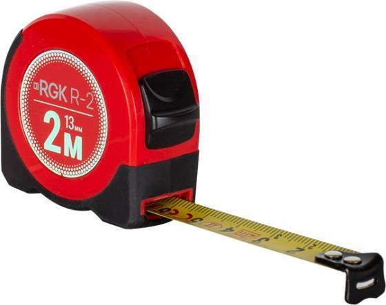 лучшая цена Карманная рулетка RGK R2 длина 2м, класс точности II