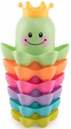 Пирамидка HAPPY BABY 330090 AQUA KING набор игрушек для ванной happy baby aqua king 330090