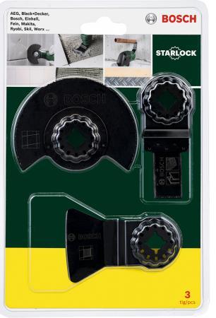 Набор оснастки для МФИ BOSCH 2 607 017 324 для сантехнических работ Starlock