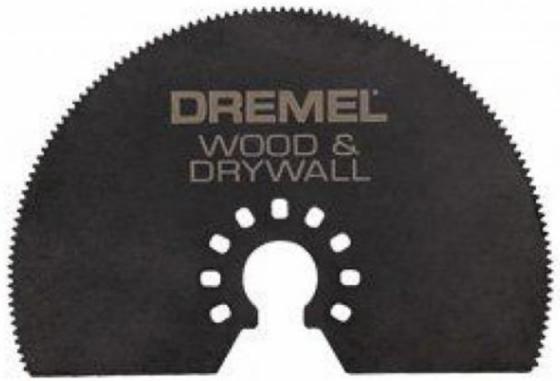 Полотно пильное для МФИ DREMEL Multi-Max MM450 сегм.диск, 75мм, дерево полотно пильное для мфи dremel multi max mm470 погружное 19мм дерево