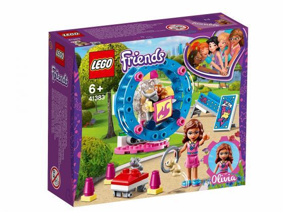 Конструктор LEGO Игровая площадка для хомячка Оливии 81 элемент lego friends выставка щенков игровая площадка