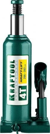 Домкрат KRAFTOOL 43462-4_z01 гидравлический бутылочный kraft-lift сварной 4т 206-393мм